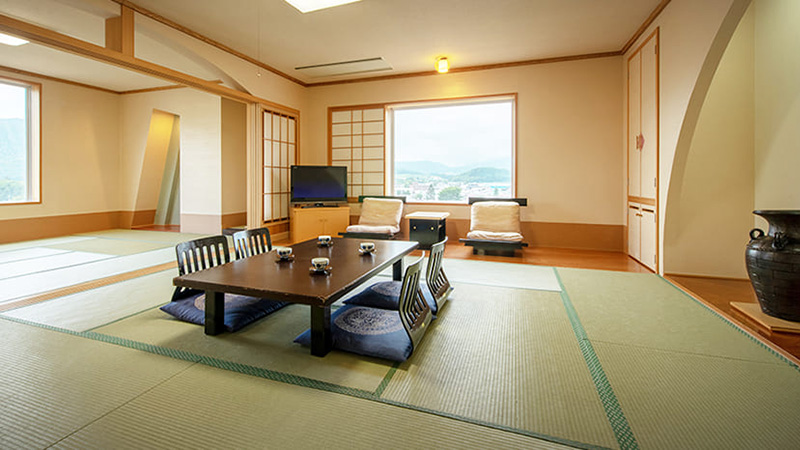 2 joint Japanese style rooms
